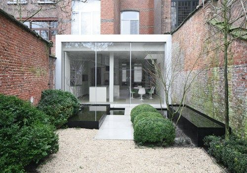 HOUSE EVA - Van Noten Architects Garden - Kristof Swinnen