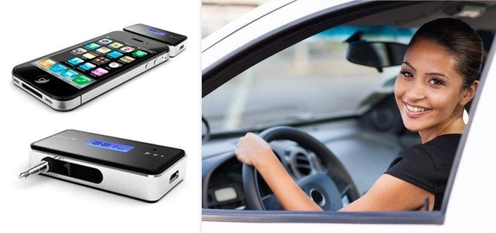 $9 for an iPhone to Car Stereo Transmitter (Up to $29 Value)