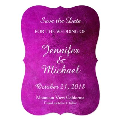 Save the Date Wedding Handwriting Pink Classical Card - marriage invitations wedding party cards invitation