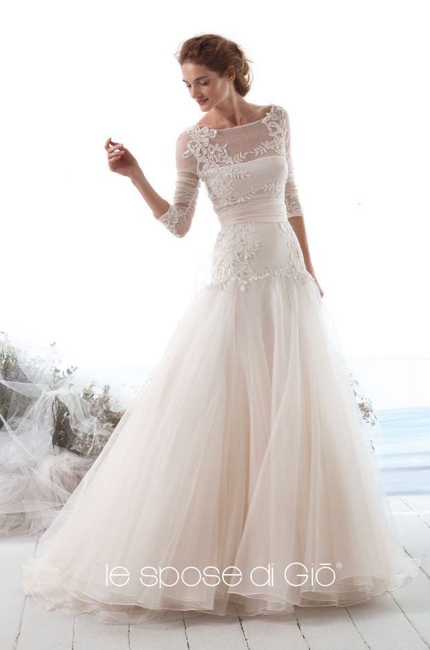 4179 best Long sleeved & 3/4 length sleeve wedding gown inspiration ...