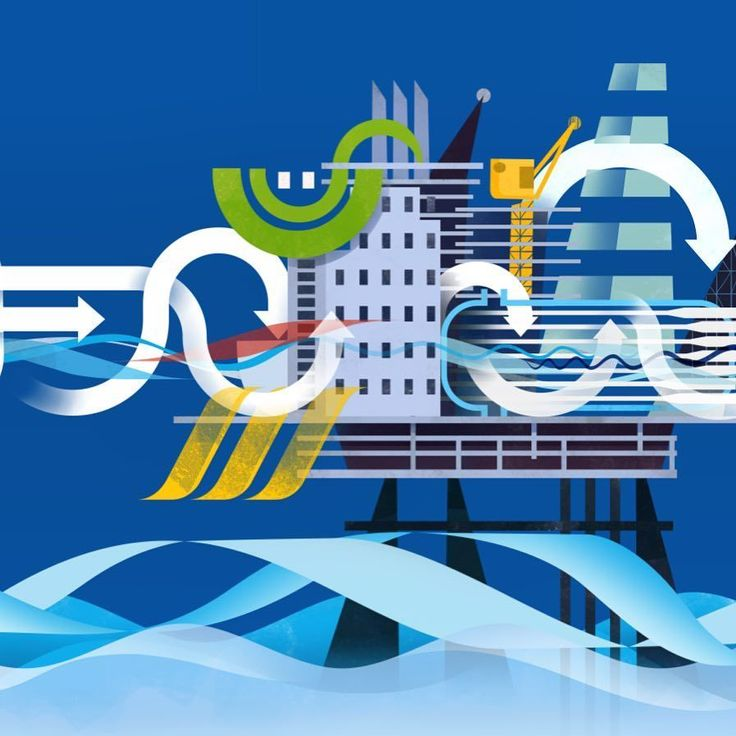 Illustration Room Team #Repost @greygorillo: Rig filtration illustration for business.