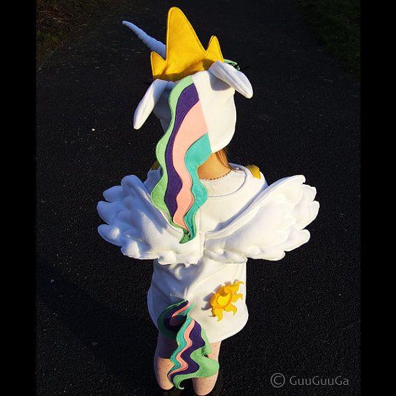 child's Princess Celestia costume My Little Pony girl by GuuGuuGa