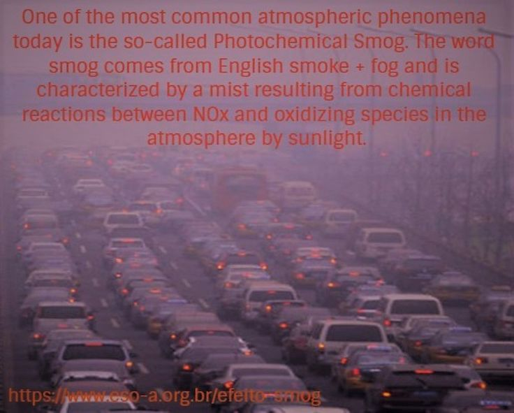 Um dos fenômenos atmosféricos mais comuns na atualidade é o chamado Smog Fotoquímico. A palavra smog, vem do inglês smoke (fumaça) + fog (neblina) e caracteriza-se por uma névoa resultante de reações químicas entre o NOx e espécies oxidantes na atmosfera por ação da luz solar. Trata-se de um fenômeno oriundo de grandes centros urbanos, onde há uma quantidade superlativa de emissões de gases poluentes. O fenômeno acontece principalmente em dias de muito sol e pouco vento, condições...