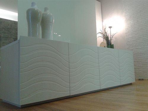 Mazzali: the DECO' kneading trough  with WAVE design / madia DECO' con disegno Wave