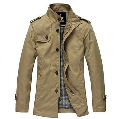 Men'S Fasion Hot Sale Trench Coat – USD $ 23.50