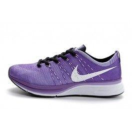 Nike Flyknit Trainer+ Unisex Lilla Svart | Nike billige sko | kjøp Nike sko på nett | Nike online sko | ovostore.com