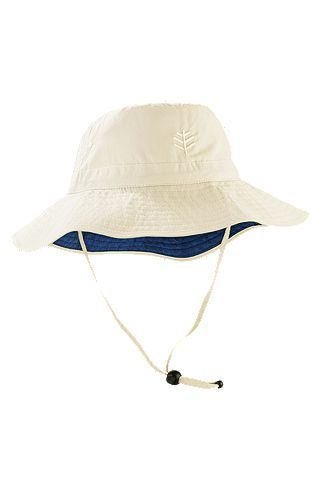 Everyday Bucket Hat: Sun Protective Clothing - Coolibar - Rated UPF 50+ - Removable strap