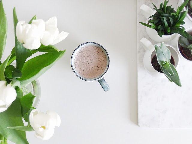 Auf der Mammilade|n-Seite des Lebens | Personal Lifestyle Blog | Lieblinge und Inspirationen der Woche #16 | Fruehlingsdeko | Urban Jungle Blogger | Pflanzen in der Tasse | weiße Tulpen