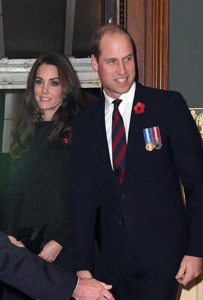 Catherine, Duchess of Cambridge and Prince William, Duke of Cambridge attend the annual Royal Festival of Remembrance.