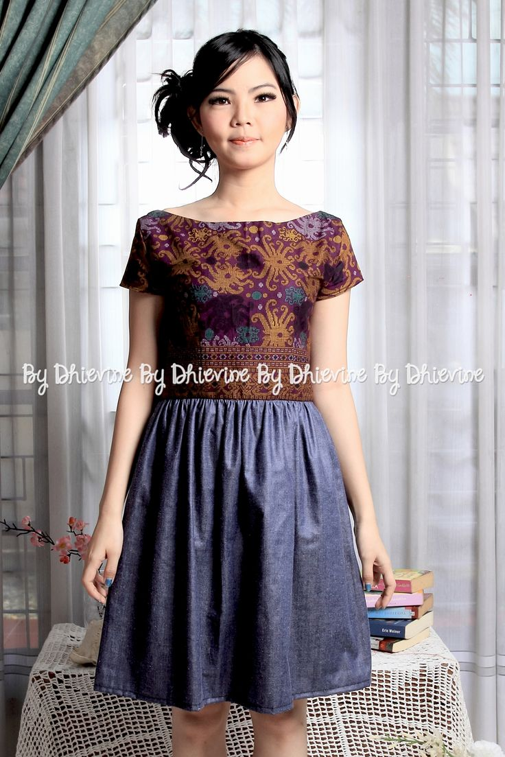 Sitaresmi batik Dayak Dress | DhieVine | Redefine You