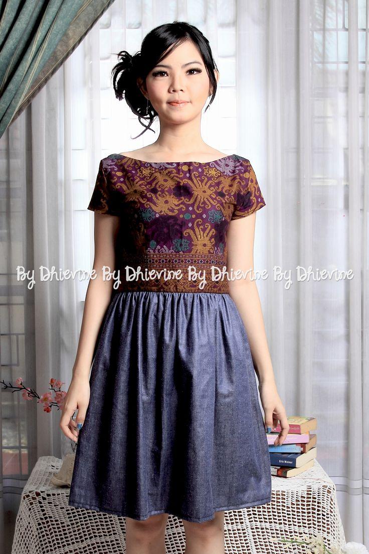 Sitaresmi batik Dayak Dress   DhieVine   Redefine You