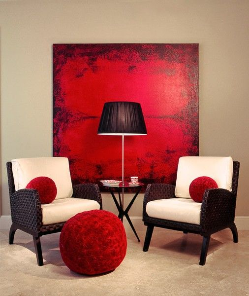 25 best ideas about living room red on pinterest red Red and cream bedroom ideas