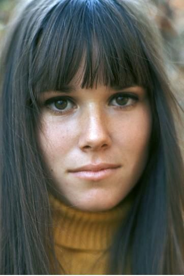 Barbara Hershey, a new budding young hip actress in 1968