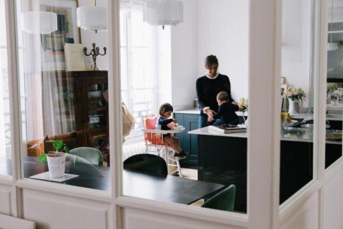 Rund Ums Haus, Runde, Küche Und Esszimmer, Ideen Für Die Küche, Esszimmer,  Küchen Sitzgelegenheiten, Paris Haus, Offene Küchen, Pariser Apartment