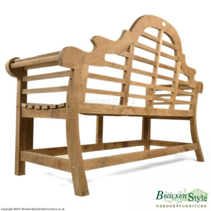 Marlborough Lutyens Teak Garden Bench