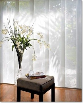 Hunter Douglas Window Fashions traditional-vertical-blinds