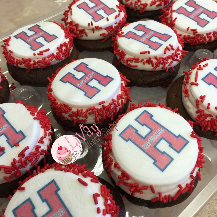 Howard University Cupcakes Cakepop Cupcakes