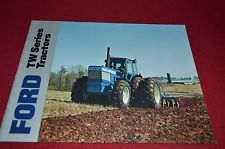 Ford Tractor TW-5 TW-15 TW-25 TW-35 Tractor Dealers Brochure YABE3 2