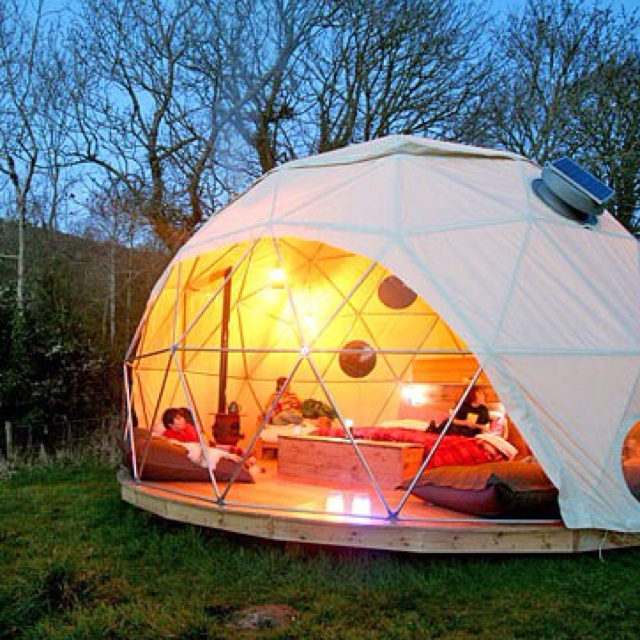 15 best images about domes on pinterest geodesic dome x for Permanent tent cabins