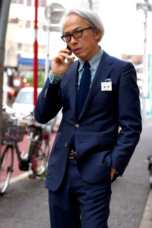 Hirofumi Kurino Courtesy of the Sartorialist