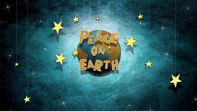 peace on earth series branding