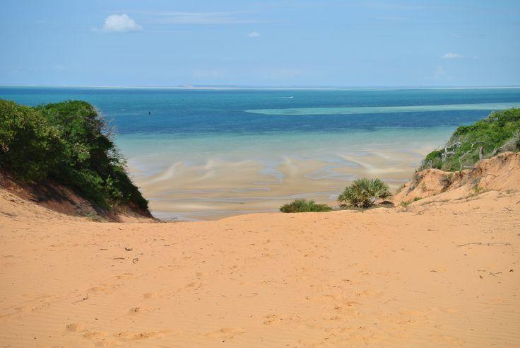 Sanddunes of Vilankulo, Mozambique
