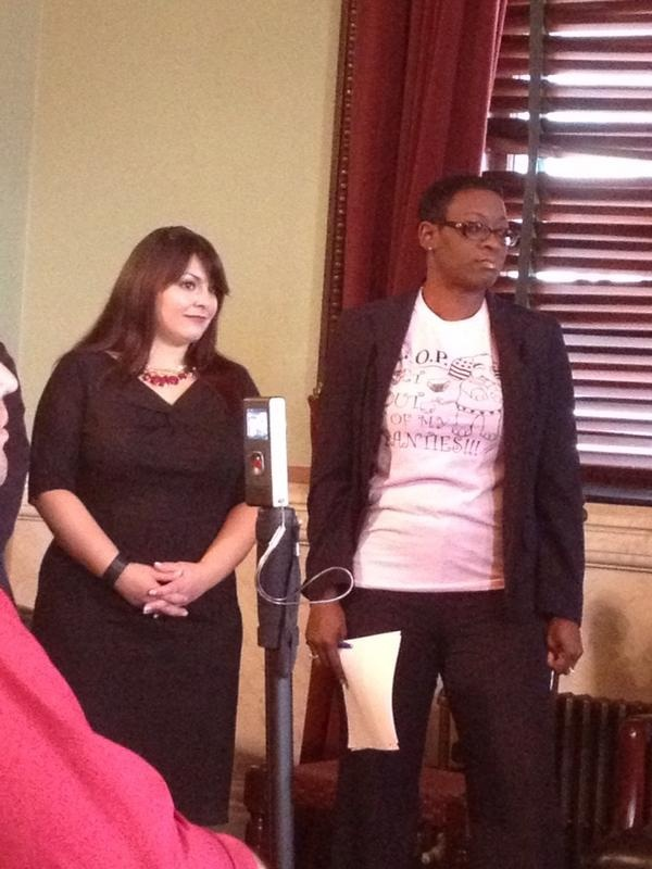 Nina Turner, Ohio State Senator, Wears GOP Acronym T-Shirt: 'Get Out Of My Panties'