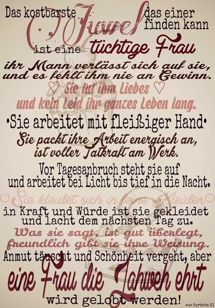 Weiteres - Vintage - Poster Ehefrau (nach Sprüche 31) - ein Designerstück von Koenigstochter-Liese bei DaWanda