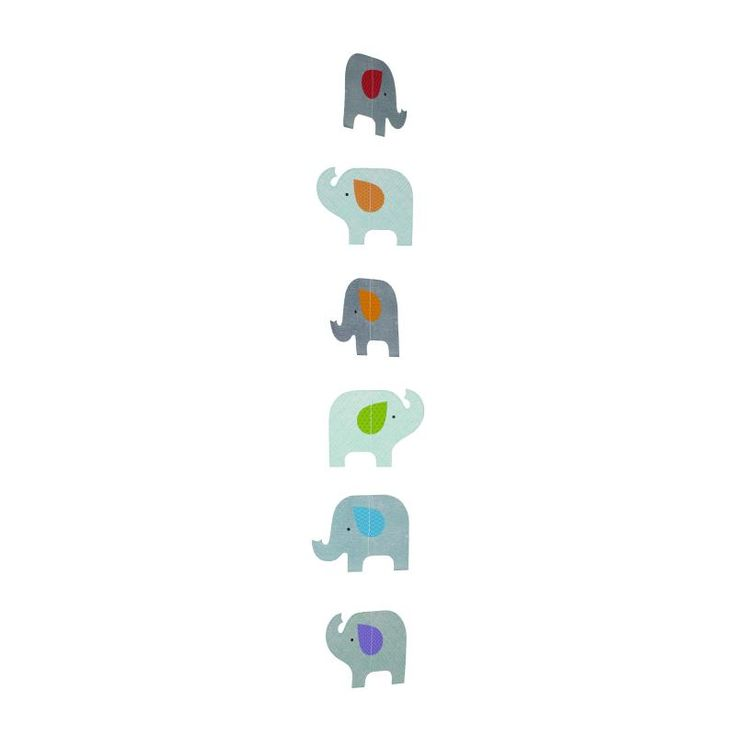 Elephant Parade Strand Mobile - Petit Collage for sale by Little Shop of Treasures. Other Petit Collage available now at LSOT.