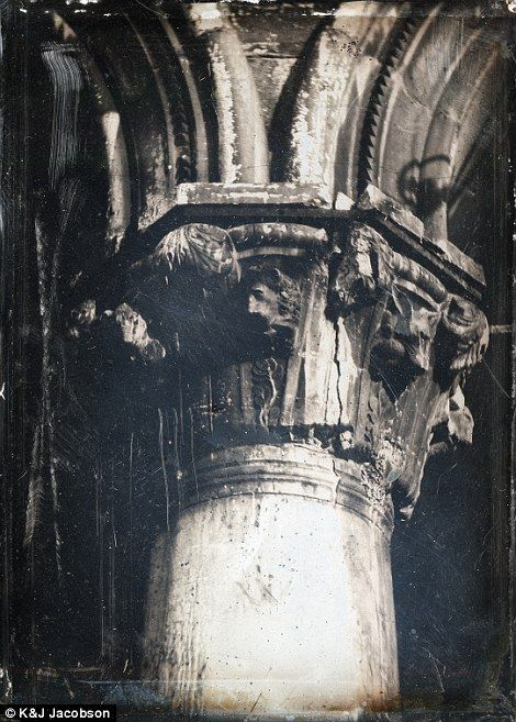 John Ruskin snapped this photo at Ducal Palace in 1849 or 1850...