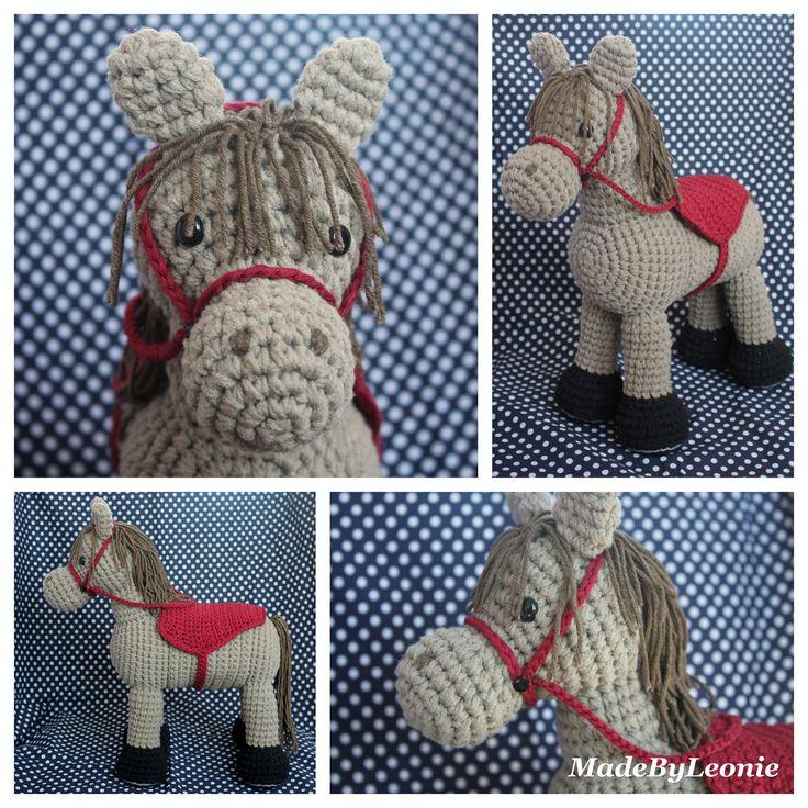 MadeByLeonie: Paard - Knuffel (Met link naar patroon - Engels)