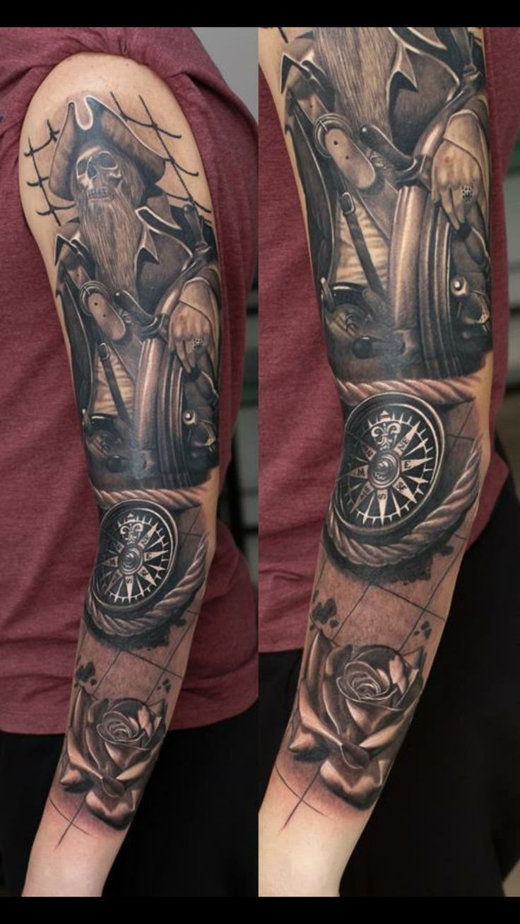 Pirate sleeve