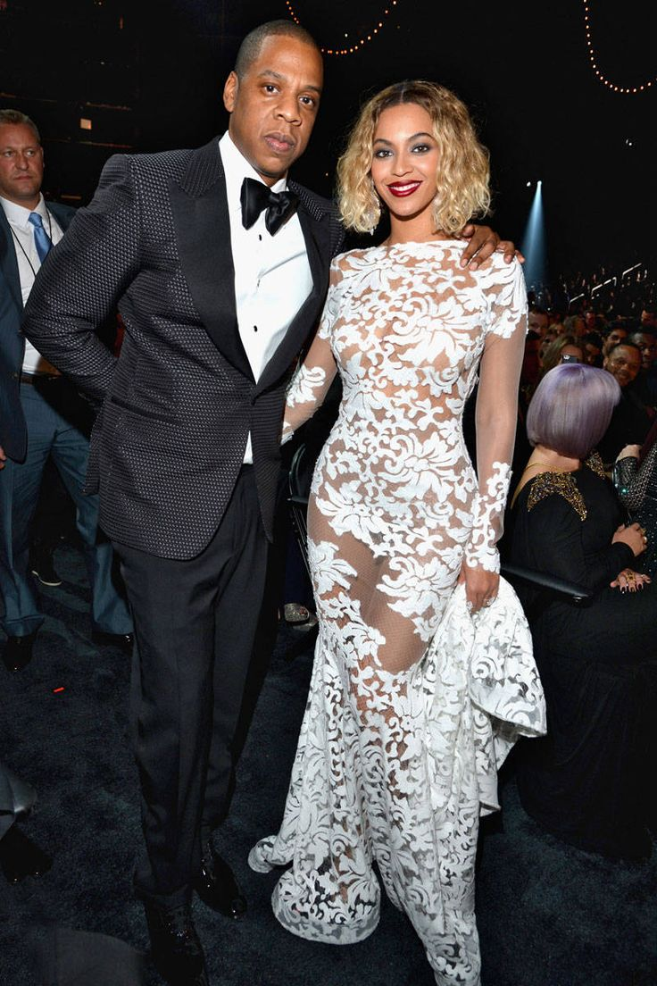 Beyonce at the 2014 Grammys. We can't wait to see these two head to Texas on their upcoming tour!