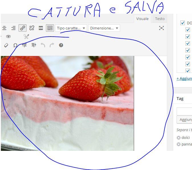 Cattura immagine Windows