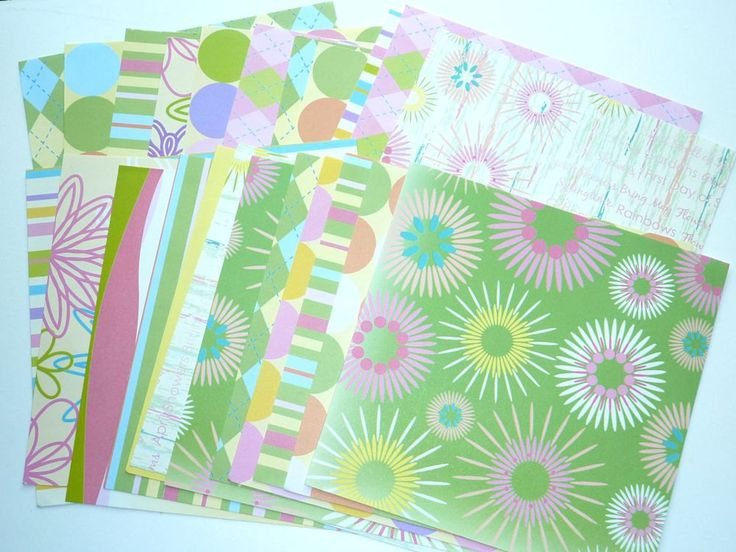 Card Stock  Happy Fun 23 Sheets by SouthamptonCreations on Etsy