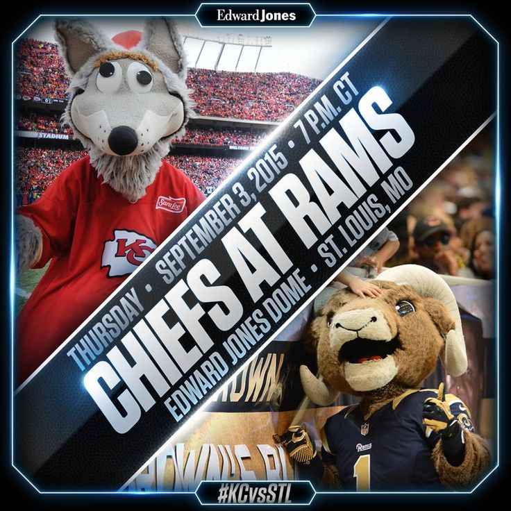 Don Lichterman: Rams take on the Chiefs at the Edward Jones Dome in final preseason game tonight!
