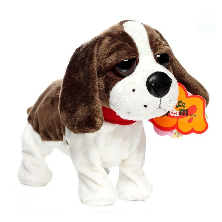 $36.54 - Nice Electronic Pets Sound Control Robot Dogs Bark Stand Walk Cute Interactive Dog Electronic Husky Poodle Pekingese Toys For Kids - Buy it Now!