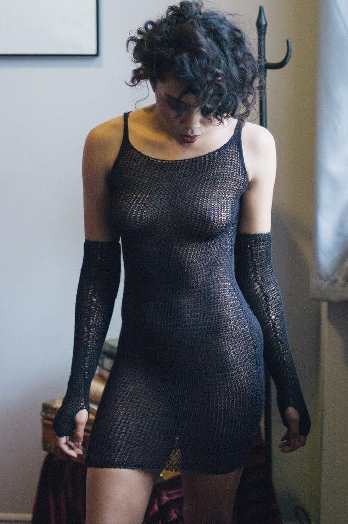 Maude Nibelungen Boudoir Knitwear That Blurs The Lines