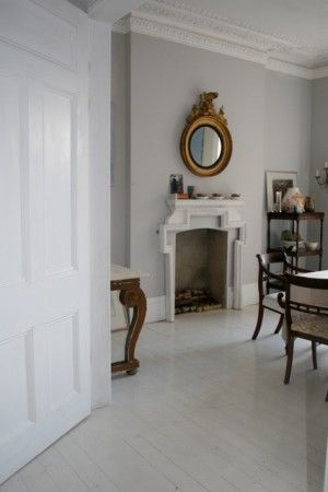 Beautiful Gray Wallsespecially Elegant With The Gold Warm White And Dark