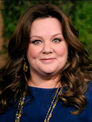 I LOVE her!!!!  She's so funny and she's pretty too.  Melissa McCarthy quite talented.   Loved her in Identity Thief.