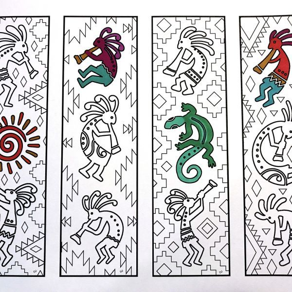 Bookmarks Page 5 Scribble Stitch Coloring Pages Coloring Bookmarks Bookmarks