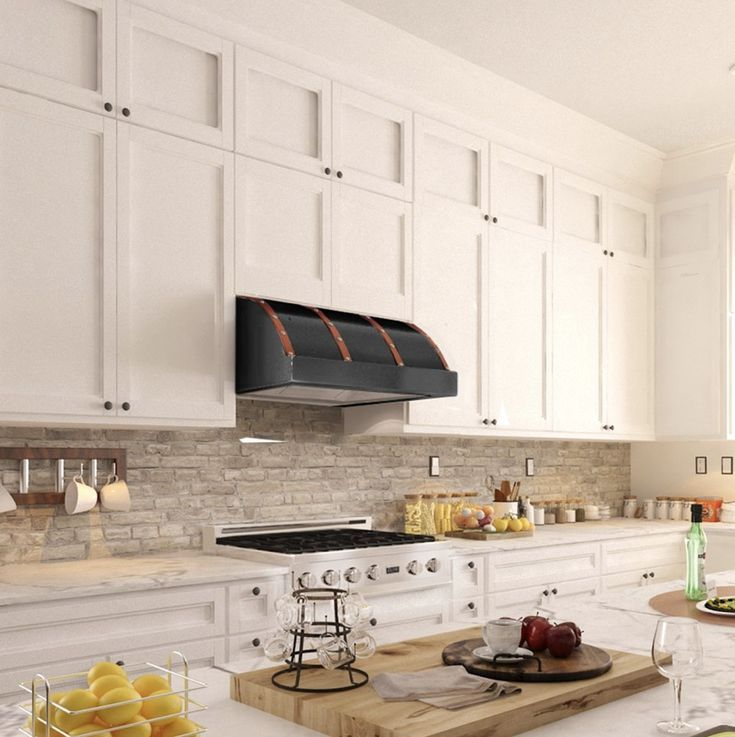 An Under Cabinet Range Hood Is A Great Way To Go When Your Space Is Limited The Look Really Takes Kitchen Appliances Design Kitchen Remodel Kitchen Renovation