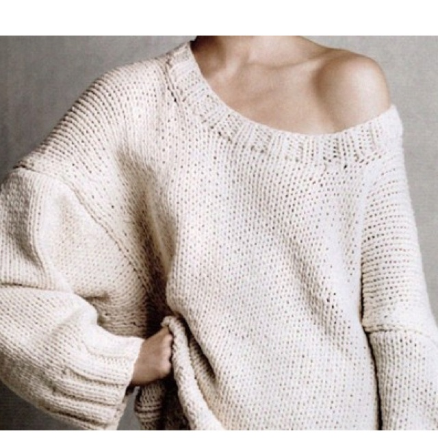 I could live in huge sweaters, curled up next to the boy :)
