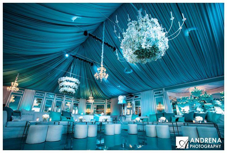 Breakfast at Tiffany's Sweet 16 with Sonia Sharma Events | Tiffany & Co. | Sweet 16 | Tiffany Blue | Empty Vase