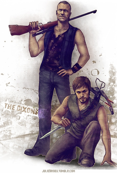 Fanart Friday 3 20 15 Theme The Walking Dead We Are The Fandom