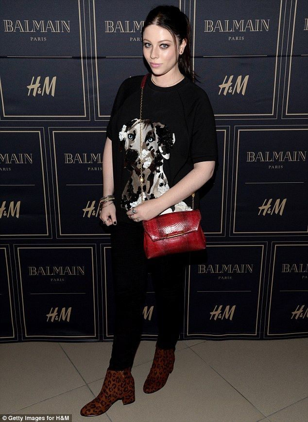 Wild woman! Michelle Trachtenberg showed up to the event sporting a casual yet chic ensemb...