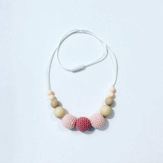 nursing necklace/ teething necklace/ breastfeeding necklace /borstvoeding ketting
