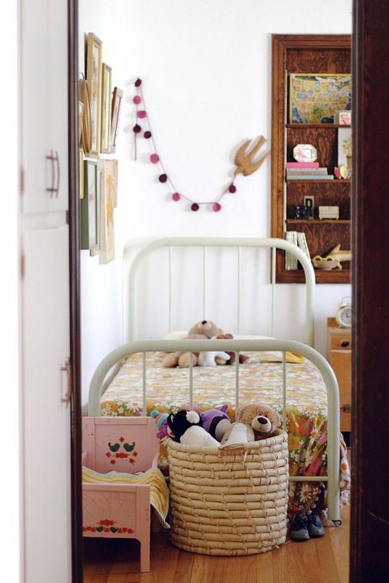 lovely eclectic kids room