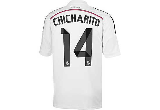 adidas Chicharito Real Madrid Home Jersey 2014-15...grab yours now!