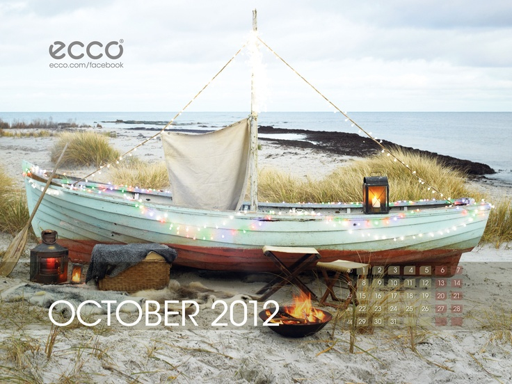 October 2012, Visit http://facebook.com/ecco #ecco @eccoshoes
